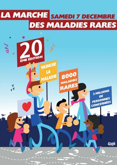 Marche des Maladies Rares 07.12.2019